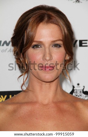 Poppy Montgomery at the G'Day USA Australia Week 2011 Black Tie Gala, Hollywood Palladium, Hollywood, CA. 01-22-1