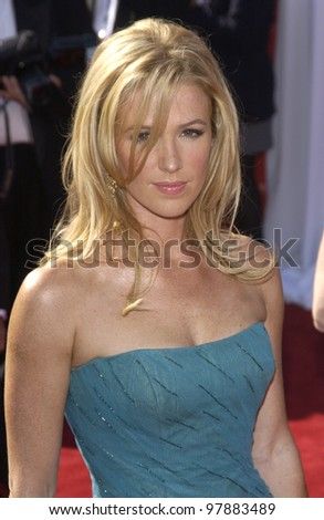 POPPY MONTGOMERY at the 55t Annual Emmy Awards in Los Angeles. Sept 21, 2003  Paul Smith / Featureflash