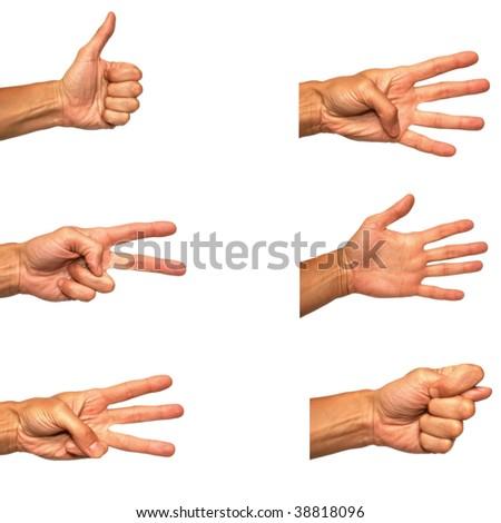 Popular gesture - stock photo