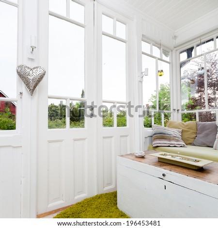 porch - stock photo