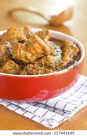 Pork Curry Non sharpen  - stock photo
