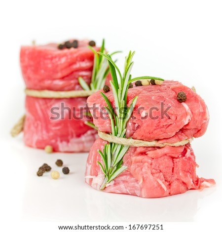 pork fillet - stock photo