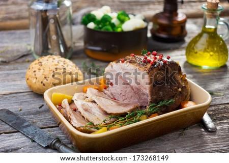 Pork Roast   - stock photo