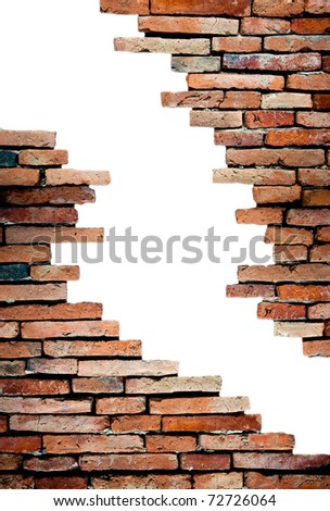 porous wall for background - stock photo