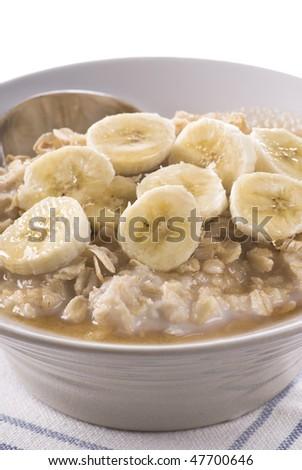 Porridge - stock photo