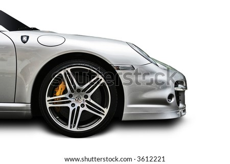 Porsche BAS Turbo - stock photo