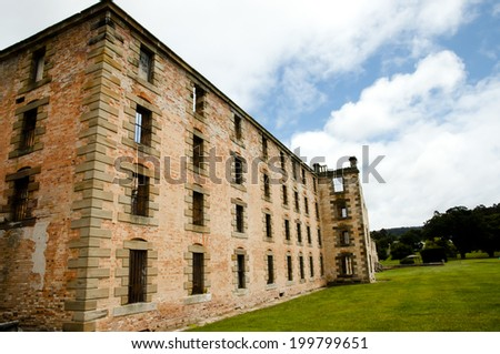 Port Arthur - Tasmania - stock photo