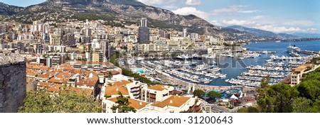 Port Hercules, La Condamine, Monaco - stock photo