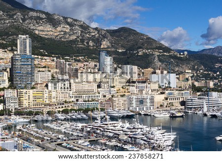 Port Hercules, Monaco - stock photo