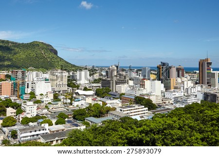 Port Louis panorama