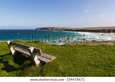 Port Nis - Outer Hebrides (Scotland) - stock photo