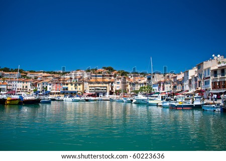 Port of Cassis, France - stock photo