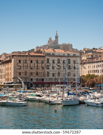 Port of Marseille - stock photo