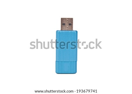 portable flash drive with usb connection isolated