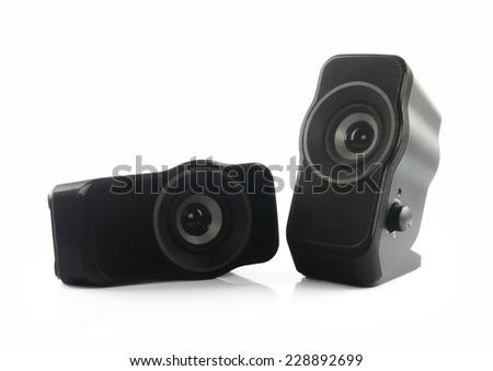 Portable Speakers - stock photo