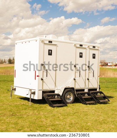 Portable Toilet - stock photo