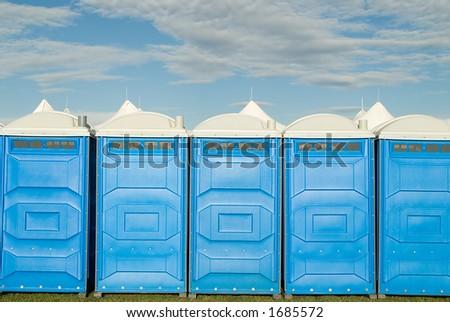 portable toilet porta potty