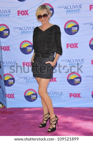 Portia De Rossi at the 2012 Teen Choice Awards at the Gibson Amphitheatre, Universal City. July 23, 2012  Los Angeles, CA Picture: Paul Smith / Featureflash - stock photo
