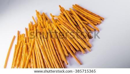 Portion of Salt Sticks - stock photo