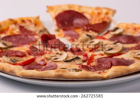 portion pizza