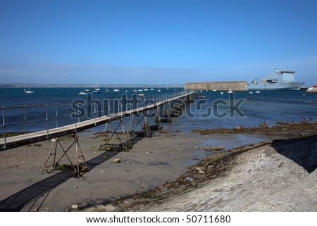 portland harbour weymouth dorset -