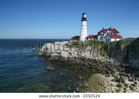 Portland Head - stock photo