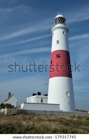 Portland Lighthouse - stock photo