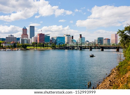 Portland Oregon  - stock photo
