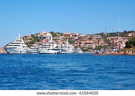 Porto Cervo Marina - stock photo