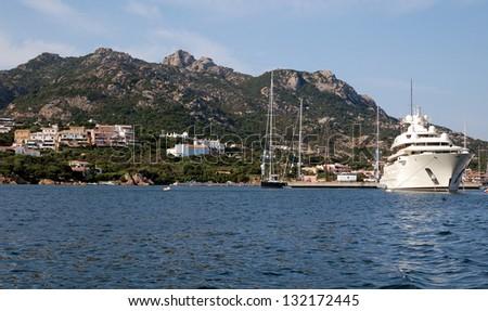 Porto Cervo, Sardinia Island - Italy - stock photo
