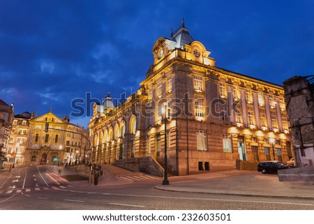 PORTO, PORTUGAL - JULY 02: Sao Bento Railway Station on July 02, 2014 in Porto, Portugal