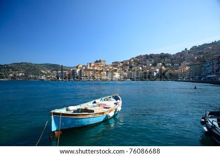 Porto Santo Stefano (Tuscany) - stock photo