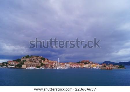 Portoferraio, Elba Island, Tuscany, Italy - stock photo