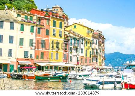 Portofino, Cinque Terre, Italy - stock photo