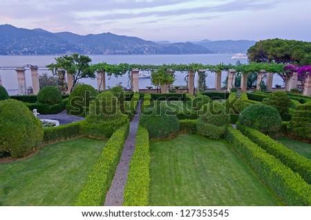 Portofino, Ligurian Coastline - stock photo