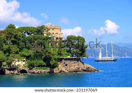 Portofino Villa  - stock photo