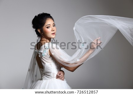 Asian lady bride in — img 10