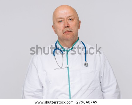 Portrait of a handsome male doctor