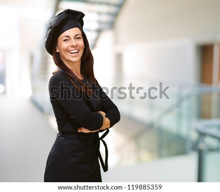 Portrait Of A Happy Woman, Indoor