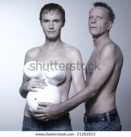 Homosexual adopting