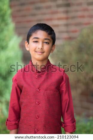 Portrait of a Little Indian Boy in Ethnic Costume  sc 1 st  Shutterstock & Portrait Little Indian Boy Ethnic Costume Stock Photo (Royalty Free ...