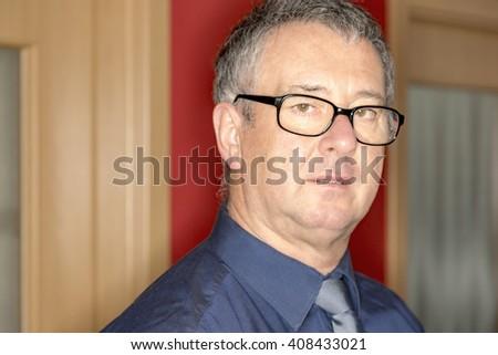 Portrait of a Man - stock photo