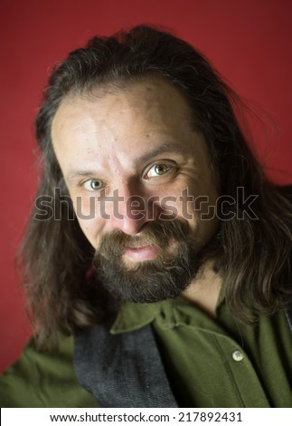portrait of a man who wants to cheat you - stock photo