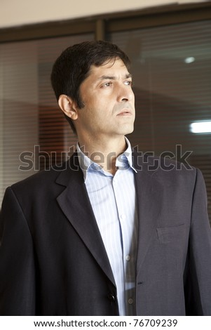 Portrait of a mature businessman