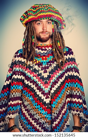Rasta man stock images royalty free images vectors shutterstock portrait of a rastafarian young man publicscrutiny Image collections
