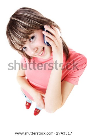Portrait of a styled professional model. Theme: TEENS, MUSIC, SHOPPING - stock photo