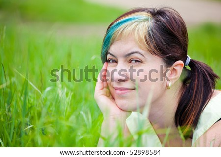 Portrait of a young woman enjoying a day in the nature