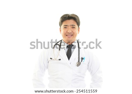 Portrait of an Asian medical doctor
