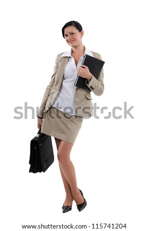 Portrait of an attractive businesswoman