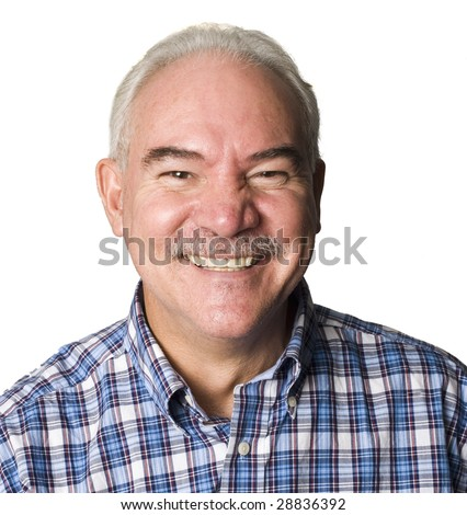 Portrait of an Latino man smiling